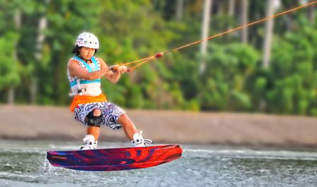 Wake Boarding in Davao City